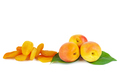 Dried and fresh apricots - PhotoDune Item for Sale