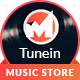 Tunein Online Music Store HTML Template - ThemeForest Item for Sale