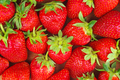 Food background: red strawberries - PhotoDune Item for Sale