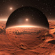 Martian landscape, environment 360 HDRI map. Equirectangular projection, spherical panorama - 3DOcean Item for Sale