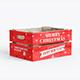 Christmas Box Mockup 3 PSD - GraphicRiver Item for Sale