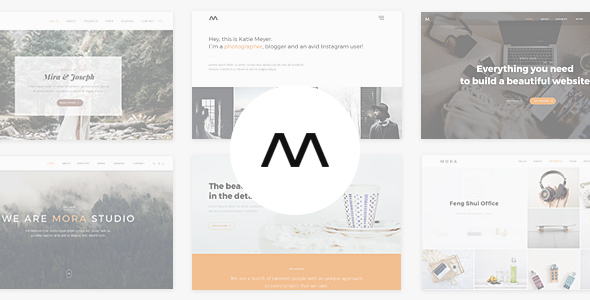 Mora - Creative Portfolio & Photography Theme