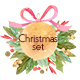 Watercolor Christmas Compositions Set - GraphicRiver Item for Sale
