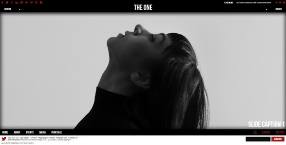 The One || One Page HTML Template