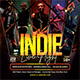 Indie Live Night Flyer - GraphicRiver Item for Sale