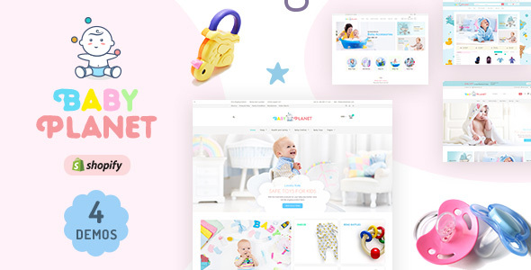 Baby Planet | Babies Store Shopify Theme