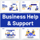 10 Business Help & Support Illustrations - GraphicRiver Item for Sale