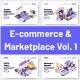 10 E-Commerce & Marketplace Illustrations Vol 1 - GraphicRiver Item for Sale