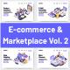 10 E-Commerce & Marketplaces Vol 2 - GraphicRiver Item for Sale