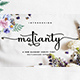 Molianty Script - GraphicRiver Item for Sale