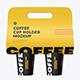 CUP Holder Mockup - GraphicRiver Item for Sale