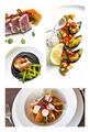 Collage of sea food plates - PhotoDune Item for Sale