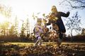Mom and daughter having fun at the park. Fall season - PhotoDune Item for Sale