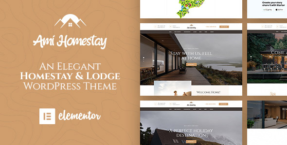 Ami Homestay - Hotel Booking WordPress Theme