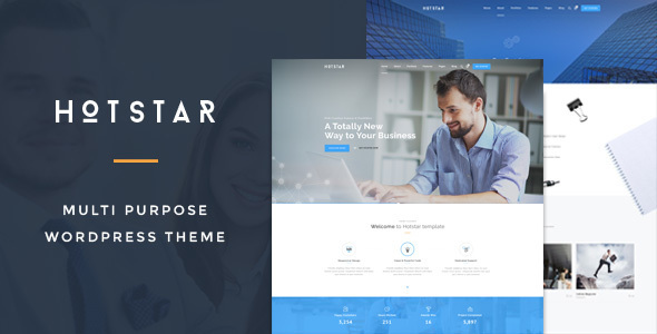 HotStar – Multi-Purpose Business Theme 12