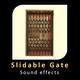 Slidable Folding Metal Gate