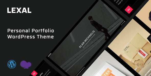 Lexal - Personal / Portfolio / Resume WordPress Theme