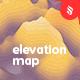 Landscape Elevation Map Backgrounds - GraphicRiver Item for Sale