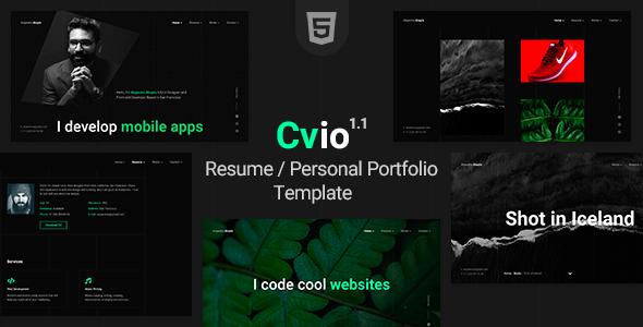 Download Cvio – CV Resume Template Nulled