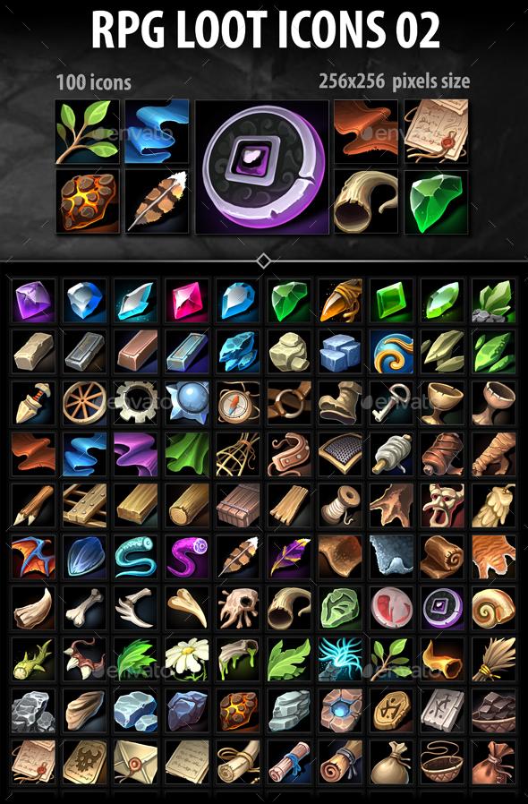 RPG Loot Icons 02
