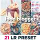 Food Blogger Lightroom Presets - GraphicRiver Item for Sale