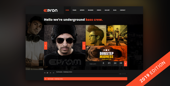 Epron - Music Theme for WordPress