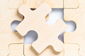 Blank wooden jigsaw puzzle_-5 - PhotoDune Item for Sale