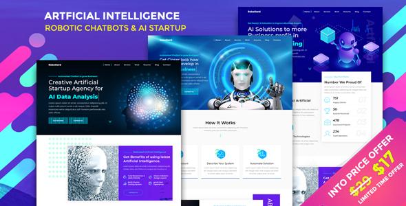 RoboGard - Chatbot & AI Startup Agency Template