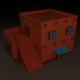 Low Poly Barrack for 3D game - 3DOcean Item for Sale