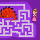 Labyrinth for children. The knight must find a way - GraphicRiver Item for Sale