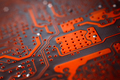 Bokeh electronic circuit close up computer - PhotoDune Item for Sale