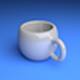 White Cup - 3DOcean Item for Sale
