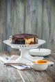 Homemade delicious chocolate and caramel cheesecake - PhotoDune Item for Sale