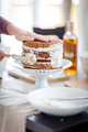 Creating a delicious multi-layered cake at home - PhotoDune Item for Sale