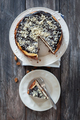 Traditional cheesecake with chocolate topping - PhotoDune Item for Sale