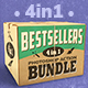 4-in-1 Bestsellers Photoshop Action Bundle - GraphicRiver Item for Sale