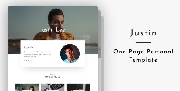 Justin - Personal Portfolio