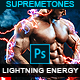 Lightning Power Photoshop Action