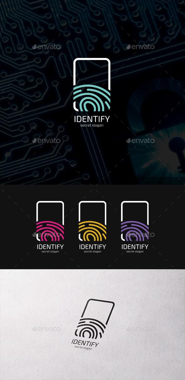 Identify Fingerprint Logo