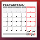 Monthly Planner 2020 - GraphicRiver Item for Sale