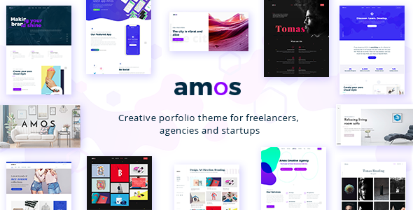Amos - Creative WordPress