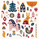 Scandinavian Christmas Collection - GraphicRiver Item for Sale