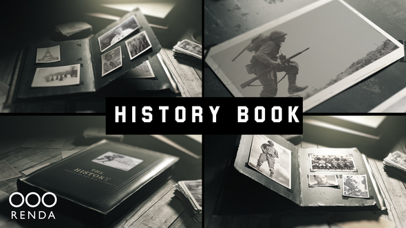 Old Book History Album