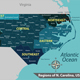 Map of state North Carolina USA - GraphicRiver Item for Sale