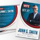 Political Election Mailer Postcard v3 - GraphicRiver Item for Sale