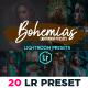 Bohemia Portrait Lightroom Presets - GraphicRiver Item for Sale