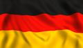 German flag waving symbol of Germany - PhotoDune Item for Sale