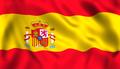 Spanish flag waving symbol of spain - PhotoDune Item for Sale