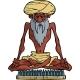 Indian Yogi - GraphicRiver Item for Sale