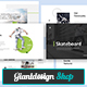 Skateboard Keynote Presentation Template - GraphicRiver Item for Sale